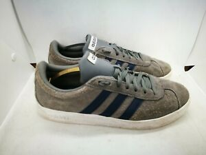 Adidas grey suede casual trainers size 9