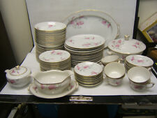 Narumi China Rafael Service for 12 w/ Serving Pcs 72 Pieces Occupied Japan VGC