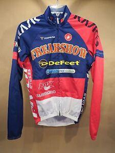 Freakshow Castelli Cycling Jacket | XXS | Stan's / Fox / Shimano / DeFeet | USA