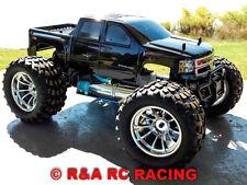 Silverado 2500 HD Custom Volcano S30 4WD 45+MPH 1:10 Nitro RC Monster Truck RTR