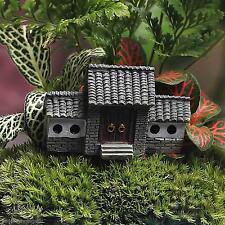DIY Garten Rasen Miniatur Figur Mini Burg Villa Haus Fairy Plant Pot Dekor