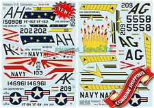 Print Scale 48-139 Decal for Vought F-8 Crusader Part 1 the Complete Set 2, 1/48
