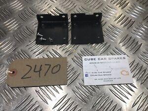BMW E46 CD Multi Changer Brackets Pair 8370925