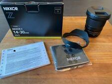 Nikon NIKKOR Z 14-30mm f/4 S Mirrorless Lens