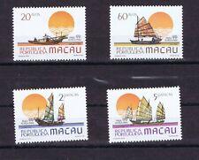 DE229 MACAU 1984 Fshing boats MNH