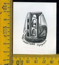 Ex Libris Originale Tranquillo Marangoni  b 117 Gianni Mantero