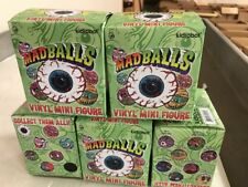 Madballs Vinyl Mini Figurines, LOT Of 5 Blind Boxes To Relive The Magic. 80's!