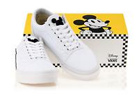 New Mens VANS X DISNEY Mickey Old Skool School WHITE VN0A38G1UNC Shoes Sneakers