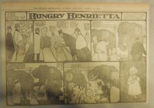 Hungry Henrietta by Winsor McCay from 4/30/1905 ! Half Page Size! 11 x 15 inches