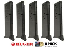 5 PACK Ruger LC9 9mm 10 Round Extended Magazine by Promag Mag Mags RUG17 NIB