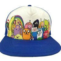 Adventure Time With Finn Jake Cartoon Network TV Series Snapback Trucker Hat Cap