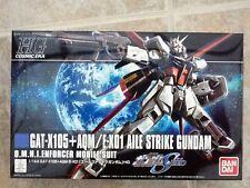BANDAI 1/144 GUNDAM HG SERIES GUNDAM GATX105 + AQM/EX01 AILE STRIKE # 171 N/B
