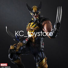 Marvel Play Arts Kai Wolverine Action Figure Toy Model Statue Collectible X-Men