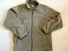 Columbia Fleece Full Zip Sweatshirt Jacket Men's Large
