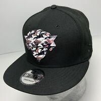 New Era Cap NBA NY Knicks Black 9FIFTY Snapback Hat