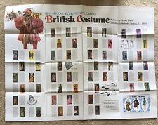 More details for brooke bond wallchart british costume -fashion 1970's scarce ex