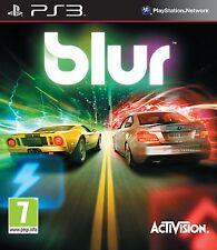 PS3 Spiel BLUR Autorennen ohne Cover (nur Disc und Hülle)