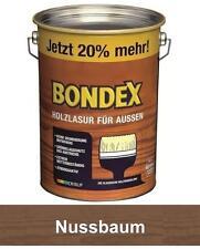 Bondex Holzlasur für außen 4 8 L Nussbaum 20 Mehr Neu&ovp WOW