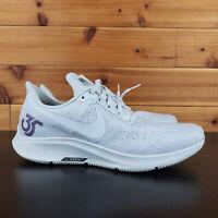 Nike ID AIr Zoom Pegasus 35 Running Shoes Gray Blue Women's Size 6
