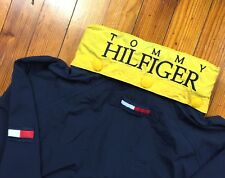 VINTAGE RARE TOMMY HILFIGER WINDBREAKER JACKET BIG LOGO URBAN SUPREME SAIL 90S