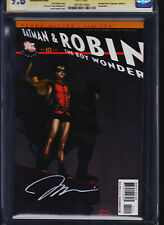 ALL STAR BATMAN AND ROBIN #10  CGC 9.8  SS  JIM LEE RECALLED VARIANT EDITION