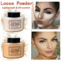 Translucent Finish Powder Face Loose Powder Smooth Setting Foundation Make Up`