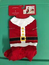 Pet Holiday Santa Pajamas - Red - S - Wondershop
