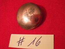 DEUTSCHLAND: Alter bronzefarbiger Uniformknopf Militärknopf 1.WK WW I (16)