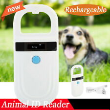 Pet Dog Cat 134.2KHZ Microchip Scanner Animal USB RFID Reader Dog Ear Reader