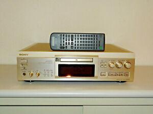 Sony MDS-JA50ES High-End Mini-Disc Recorder mit neuem Laser, FB, 2J.Garantie