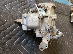 NOS Rebuilt Carter Carburetor 1957 1958 ? Chrysler Windsor Saratoga