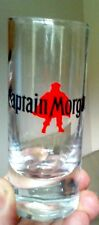 Captain Morgan tall shot glass