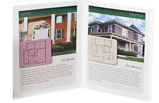1000 HALF FOLD FULL COLOR Glossy Brochures 11x17 Flat size REAL PRINTING FREE SH