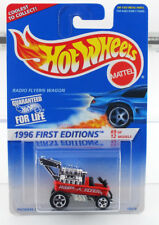 Hot Wheels 1996 First Editions Radio Flyer Wagon - MINT CAR FROM DEALERS CASE
