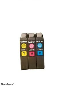 Brother Color Ink Cartridges - LC201 OPENED AND UNUSED