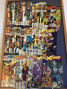 X-Force Job Lot #1 - #47, #51 - #55 1991 Onwards Marvel Comics Bundle