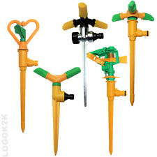 More details for impulse spike sprinkler sprayer hose pipe water garden lawn grass 2 3 arm