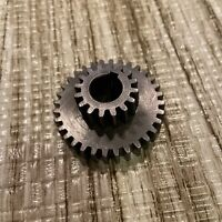 "Logan Lathe 10-11"" Quick Change Compound 0.4375"" 32T 16T 32/16 Tooth Gear keyed"