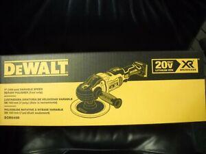 "Dewalt DCM849B 20V Max XR 7"" Cordless Variable Speed Rotary Polisher new"