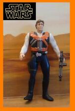 STAR WARS ★★Han Solo- Figure (With Smuggler Flight Pack) ★★ REBELS CLONE action
