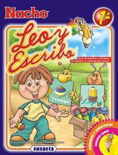 NACHO LEO y ESCRIBO 1st GRADE WRITING & READING SPANISH ESPANOL GRAMMAR CHILDREN