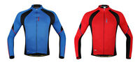 New Men's Cycling Jacket Sport Outdoor Bike Bicycle Long Sleeve Jersey M-2XL