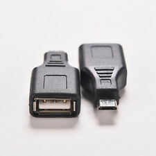 Portable Network USB 2.0 a hembra a micro USB B 5pin macho Cable Hub Adaptador S