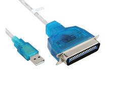 Convertisseur USB PARALLELE IEEE1284 - Prise CENTRONICS - VERSION ECONOMIQUE