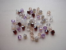 60 Swarovski® Kristall Perlen Xilion Beads/Bicone 4mm SOMMERMIX 22