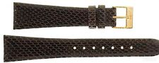 Wrist Watch Band for Skagen Leather Brown Spare Band 22mm Buckle Rosé 563xs
