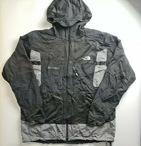 The North Face STEEP TECH Men Zip up Jacket Hooded Black Ski Snowboarding 2XL