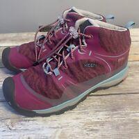 KEEN Women's Terradora Mid Waterproof Hiking Boots purple pink size 5