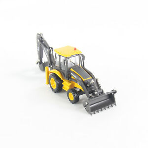 Volvo BL71 Diecast Backhoe Loader Truck 1:87 Scale Construction Vehicle Model