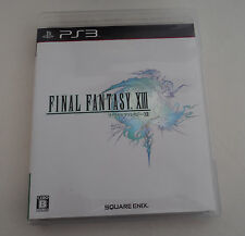 PS3 Playstation Final Fantasy XIII 13 Japanese Japan Import USED